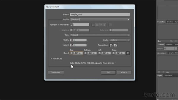Creating files for print: Illustrator CS6 Essential Training