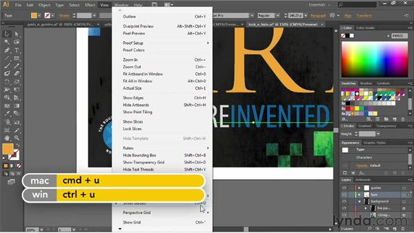 Using rulers, guides, and grids: Illustrator CS6 Essential Training