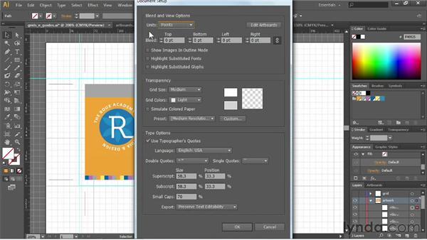 Changing units of measurement: Illustrator CS6 Essential Training