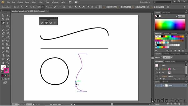 Understanding the many faces of the Pen tool: Illustrator CS6 Essential Training
