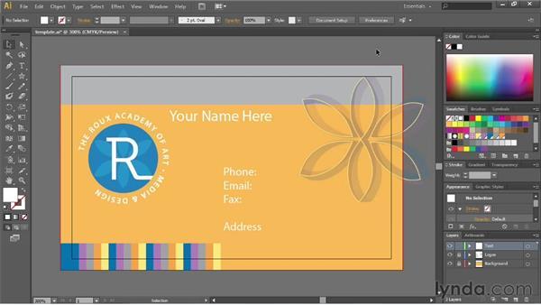 Saving templates: Illustrator CS6 Essential Training