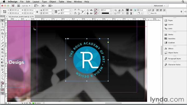 Editing graphics in their original app: InDesign CS6 Essential Training