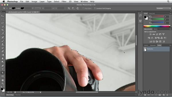 Taking advantage of image transparency and clipping paths: InDesign CS6 Essential Training