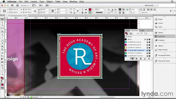 Applying basic strokes and fills: InDesign CS6 Essential Training