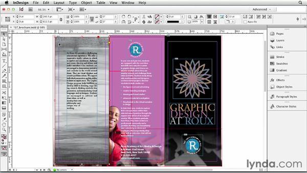 Colorizing images: InDesign CS6 Essential Training