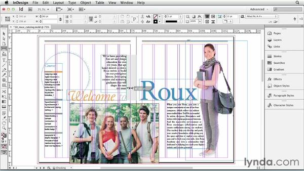 : InDesign CS6 Essential Training