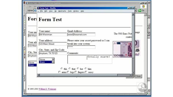 about forms: Using Perl/CGI Scripts