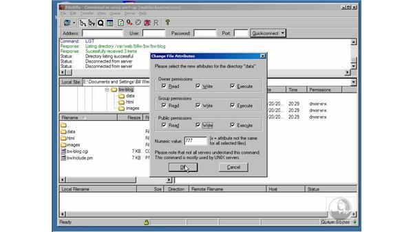 installing BW blog: Using Perl/CGI Scripts