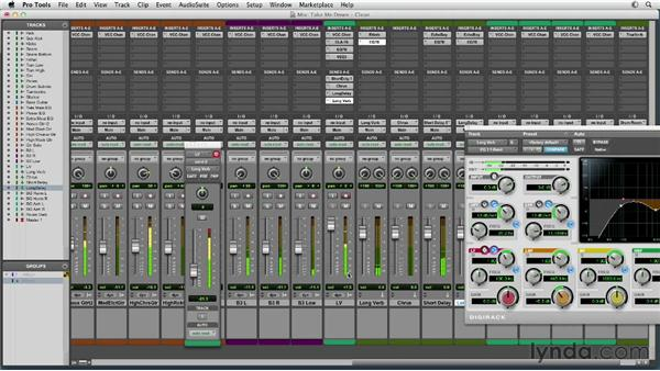 Making the lead vocal the star: Mixing a Rock Song in Pro Tools