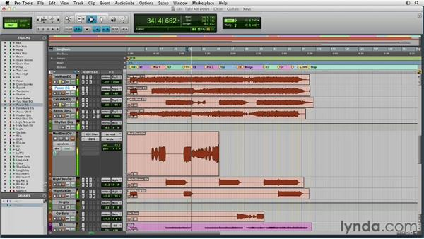 Circling back and getting creative: Mixing a Rock Song in Pro Tools