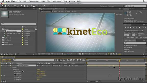The six foundations of AE: After Effects CS6 Essential Training