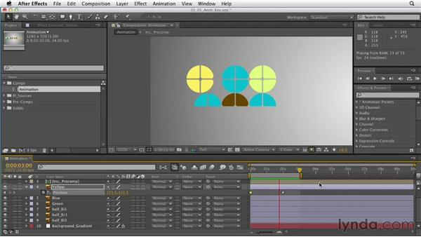 Getting started with animation and keyframes: After Effects CS6 Essential Training