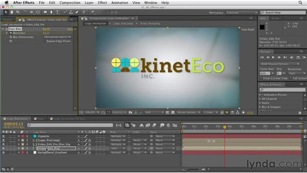 Understanding effects: After Effects CS6 Essential Training
