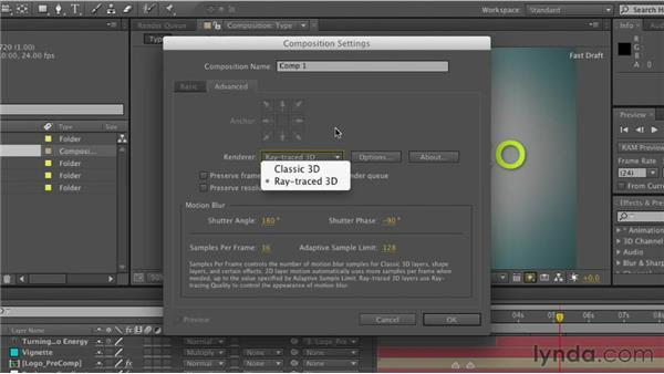 Creating compositions: After Effects CS6 Essential Training