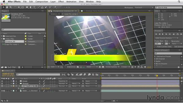 Understanding precomposing: After Effects CS6 Essential Training