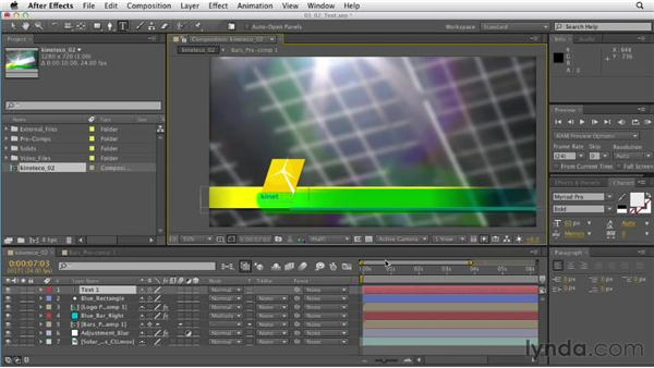 Creating type: After Effects CS6 Essential Training