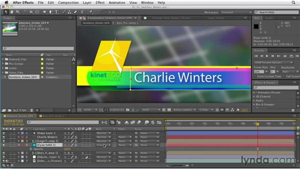 Understanding switches and blend modes: After Effects CS6 Essential Training