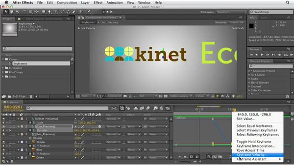Understanding positional keyframes: After Effects CS6 Essential Training