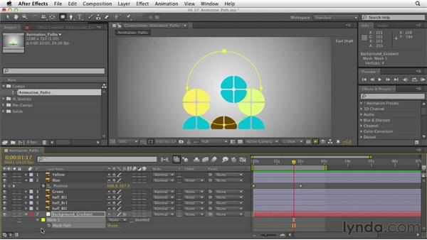 Understanding animation paths: After Effects CS6 Essential Training