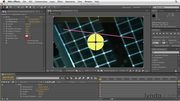Generating graphic effects with adjustment layers: After Effects CS6 Essential Training