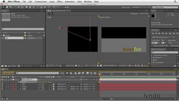 Introducing cameras: After Effects CS6 Essential Training