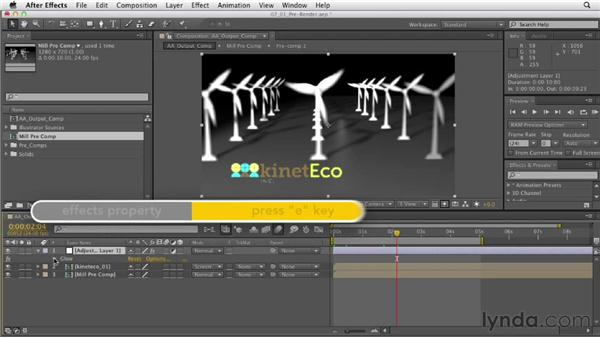 Caching and prerendering: After Effects CS6 Essential Training