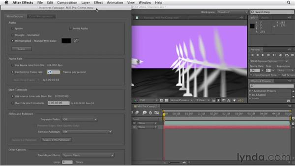 Understanding the alpha channels: After Effects CS6 Essential Training