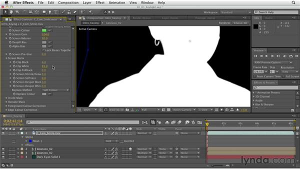 Getting started with Keylight: After Effects CS6 Essential Training