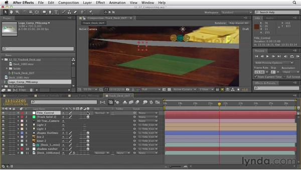 Beginning compositing: After Effects CS6 Essential Training