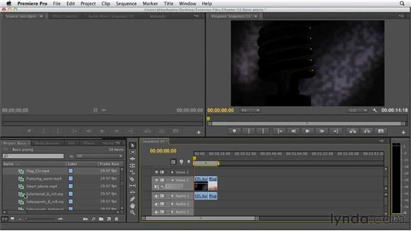 Basic editing overview: Premiere Pro CS6 Essential Training