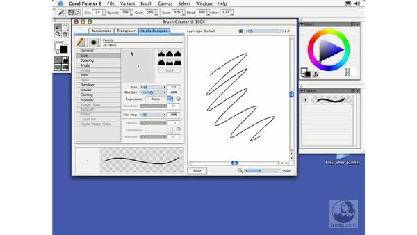 the brush creator: Getting Started with Corel Painter 8