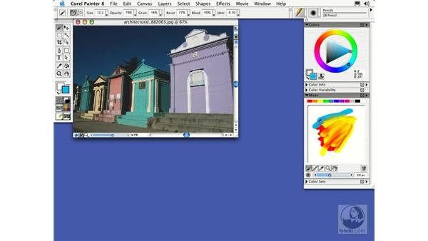 color: Getting Started with Corel Painter 8
