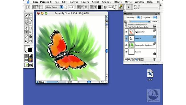 layers: Getting Started with Corel Painter 8