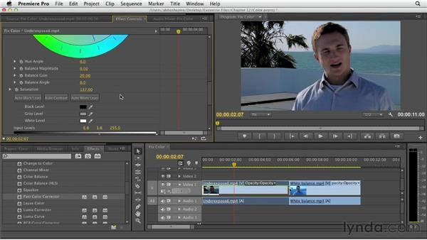 Understanding color correction: Premiere Pro CS6 Essential Training