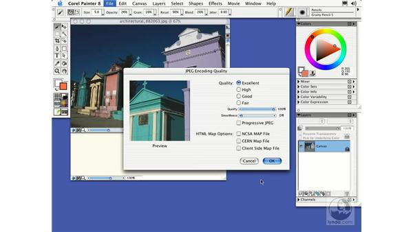 files: Getting Started with Corel Painter 8