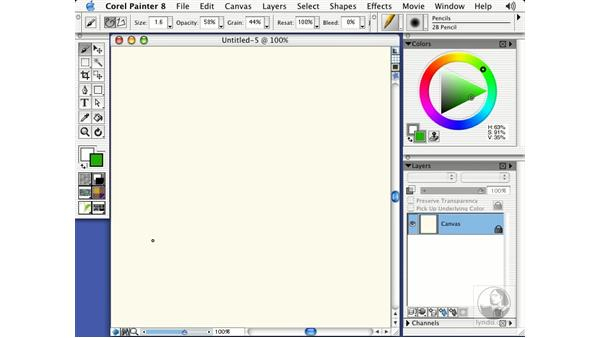 using a wacom tablet: Getting Started with Corel Painter 8