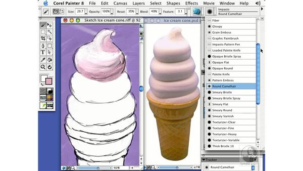 impasto: Getting Started with Corel Painter 8