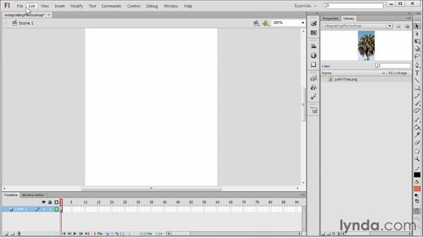 Integrating with Photoshop: Flash Professional CS6 Essential Training