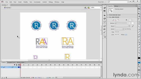 Integrating with Illustrator: Flash Professional CS6 Essential Training