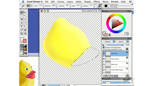 the airbrush part 2: Getting Started with Corel Painter 8