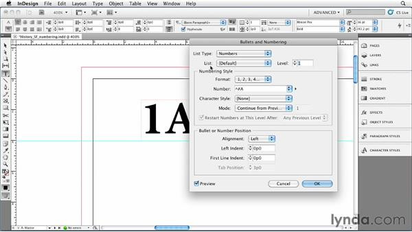 035 Numbering instead of using auto page numbers: InDesign Secrets