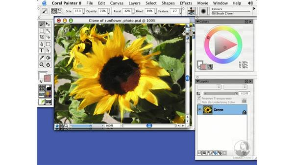 cloning: Getting Started with Corel Painter 8