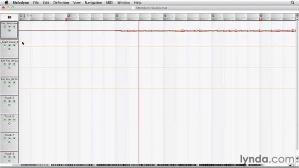 Working with multiple tracks: Melodyne Studio Essential Training