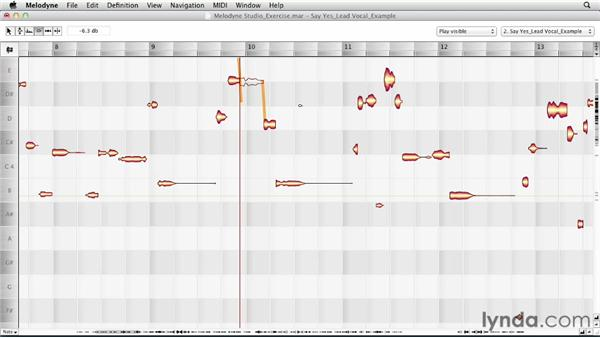 Using the Amplitude tool: Melodyne Studio Essential Training