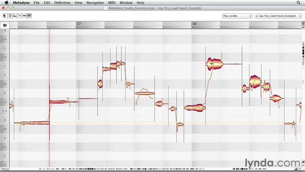 Using the Note Separation tool and Segment Separation Tool: Melodyne Studio Essential Training
