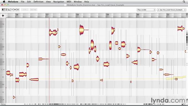 Using the Main tool: Melodyne Studio Essential Training