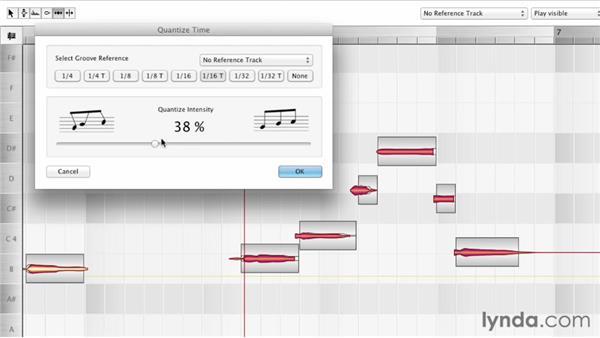 Editing time: Melodyne Studio Essential Training