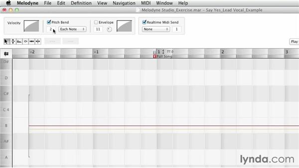 Exploring the MIDI Out options: Melodyne Studio Essential Training