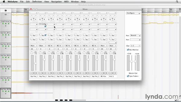 Using a MIDI controller: Melodyne Studio Essential Training