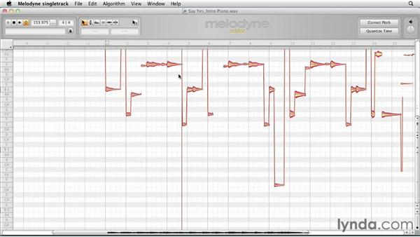 Exploring how to use Direct Note Access (DNA): Melodyne Studio Essential Training